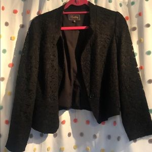 Lace blazer from Madewell size 10